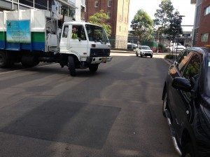 Sydney Waste Services: Responsible driving? What's that?